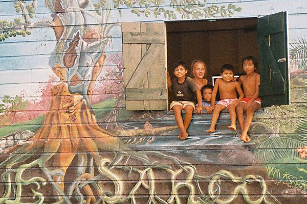Small Belize Jungle Mural